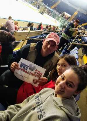 Bryan attended Springfield Thunderbirds vs. Binghamton Devils - AHL on Mar 22nd 2019 via VetTix