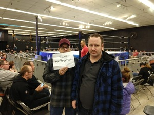 Barry attended MCW Anniversary 2019 - Live Wrestling - Presented by Maryland Championship Wrestling on Feb 23rd 2019 via VetTix
