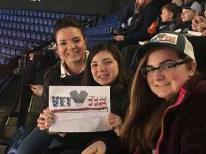 Tammi attended New England Black Wolves vs. Colorado Mammoth - National Lacrosse League on Mar 3rd 2019 via VetTix