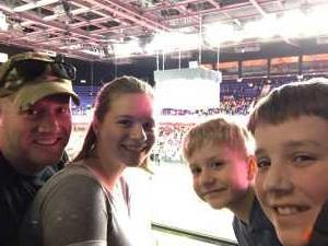 Brandon attended New England Black Wolves vs. Colorado Mammoth - National Lacrosse League on Mar 3rd 2019 via VetTix