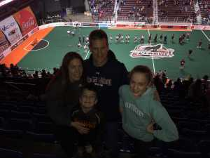 Michael attended New England Black Wolves vs. Colorado Mammoth - National Lacrosse League on Mar 3rd 2019 via VetTix