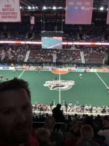 William attended New England Black Wolves vs. Colorado Mammoth - National Lacrosse League on Mar 3rd 2019 via VetTix