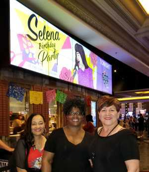 Regina attended Selena Birthday Party Ft. The Como LA Flor Band - Undefined on Apr 18th 2019 via VetTix