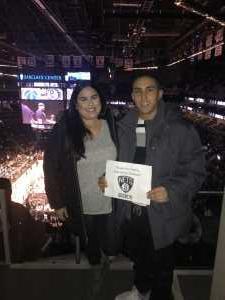 Juan attended Brooklyn Nets vs. Washington Wizards - NBA on Feb 27th 2019 via VetTix