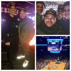Valentin attended Brooklyn Nets vs. Washington Wizards - NBA on Feb 27th 2019 via VetTix