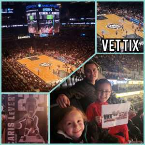 Guillermo attended Brooklyn Nets vs. Washington Wizards - NBA on Feb 27th 2019 via VetTix