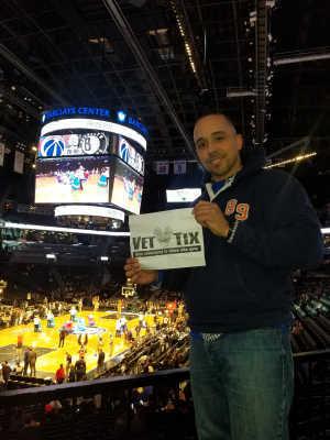 Emmanuel attended Brooklyn Nets vs. Washington Wizards - NBA on Feb 27th 2019 via VetTix
