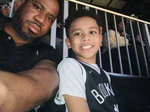 Kervin attended Brooklyn Nets vs. Washington Wizards - NBA on Feb 27th 2019 via VetTix