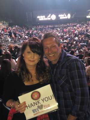 Daniel attended Eric Church - Double Down Tour on May 17th 2019 via VetTix