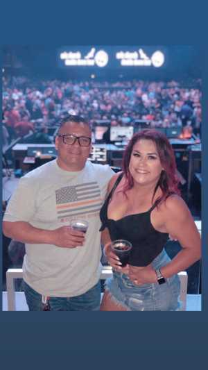 Julian attended Eric Church - Double Down Tour on May 17th 2019 via VetTix