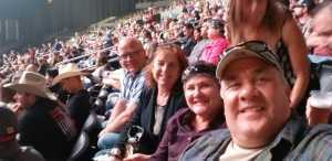 Gaston attended Eric Church - Double Down Tour on May 17th 2019 via VetTix