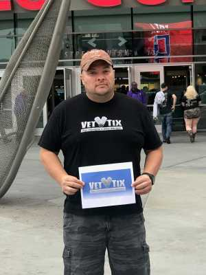 Brian attended Eric Church - Double Down Tour on May 17th 2019 via VetTix