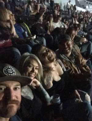 Andres attended Eric Church - Double Down Tour on May 17th 2019 via VetTix
