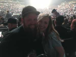 Eric attended Eric Church - Double Down Tour on May 17th 2019 via VetTix