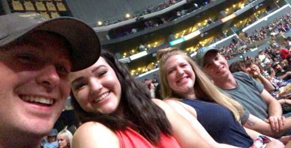 Luther attended Eric Church - Double Down Tour on May 17th 2019 via VetTix