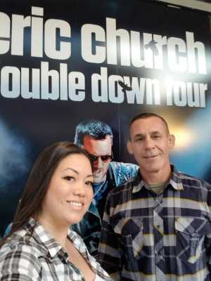 Earl attended Eric Church - Double Down Tour on May 17th 2019 via VetTix
