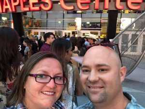 Eric attended Eric Church Double Down Tour on May 18th 2019 via VetTix