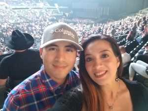 Matthew attended Eric Church Double Down Tour on May 18th 2019 via VetTix