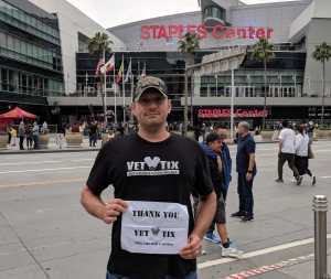 Jeff attended Eric Church Double Down Tour on May 18th 2019 via VetTix