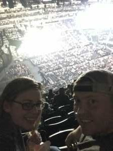 Jordan attended Eric Church Double Down Tour on May 18th 2019 via VetTix