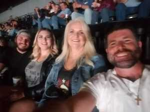 Kenny  attended Eric Church Double Down Tour on May 18th 2019 via VetTix
