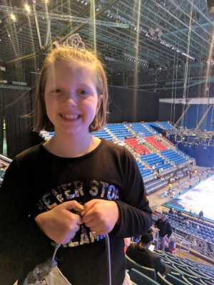 Nick attended Disney On Ice: Worlds of Enchantment on Mar 7th 2019 via VetTix