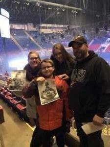 David attended Disney On Ice: Worlds of Enchantment on Mar 7th 2019 via VetTix