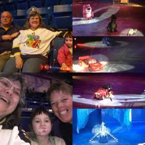 Larry attended Disney On Ice: Worlds of Enchantment on Mar 7th 2019 via VetTix