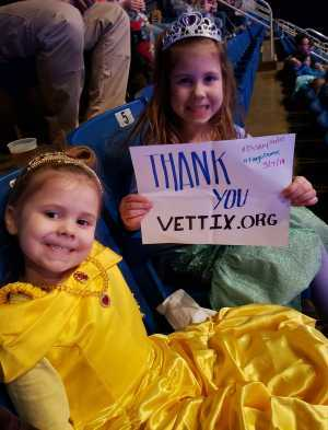 Marek Family attended Disney On Ice: Worlds of Enchantment on Mar 7th 2019 via VetTix