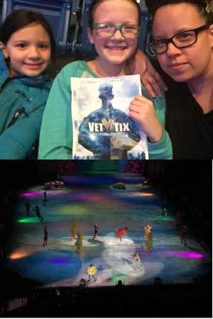 Kelly attended Disney On Ice: Worlds of Enchantment on Mar 7th 2019 via VetTix