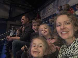 Elizabeth attended Disney On Ice: Worlds of Enchantment on Mar 7th 2019 via VetTix