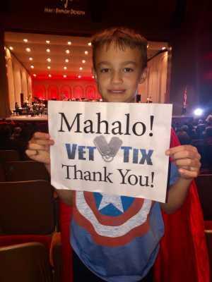 Jeff attended Hawaii Symphony Orchestra - Superhero Soundtrack on Mar 8th 2019 via VetTix