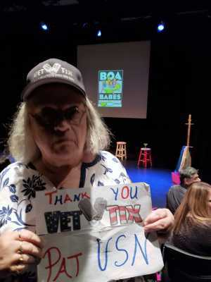 Patricia attended Ltt After Dark Presents: Boa Babes a Bumpy, Beautiful Road Trip Through Life on Mar 11th 2019 via VetTix