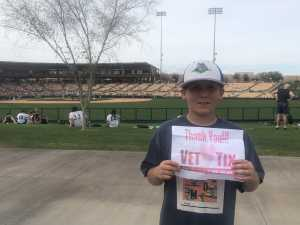 Click To Read More Feedback from Chicago White Sox vs. Milwaukee Brewers - MLB Spring Training - Ga Lawn Seating