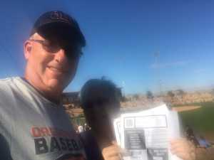 David attended Chicago White Sox vs. Colorado Rockies- GA Lawn Seating on Mar 2nd 2019 via VetTix