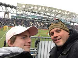 Ralph attended Philadelphia Union vs. Toronto FC - Home Opener - MLS on Mar 2nd 2019 via VetTix