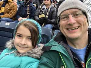 James attended Philadelphia Union vs. Toronto FC - Home Opener - MLS on Mar 2nd 2019 via VetTix