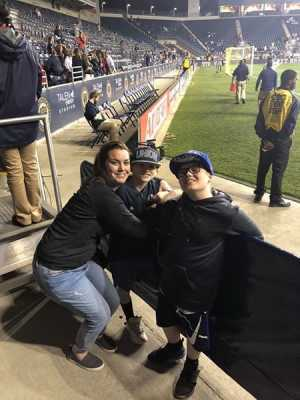 Mitchel attended Philadelphia Union vs. Toronto FC - Home Opener - MLS on Mar 2nd 2019 via VetTix