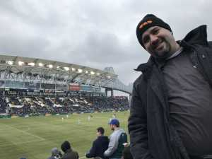 David attended Philadelphia Union vs. Toronto FC - Home Opener - MLS on Mar 2nd 2019 via VetTix