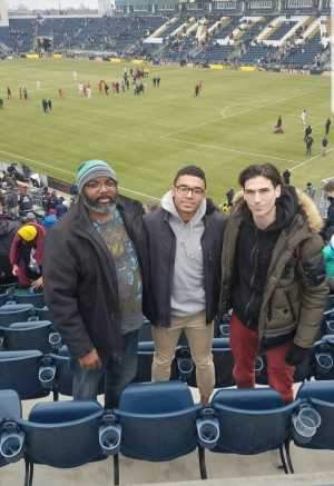 Jermaine attended Philadelphia Union vs. Toronto FC - Home Opener - MLS on Mar 2nd 2019 via VetTix