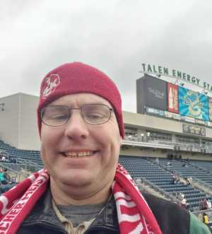 Robert attended Philadelphia Union vs. Toronto FC - Home Opener - MLS on Mar 2nd 2019 via VetTix