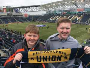 Aaron attended Philadelphia Union vs. Toronto FC - Home Opener - MLS on Mar 2nd 2019 via VetTix