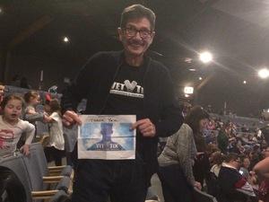 Fred attended Disney's D'cappella on Feb 23rd 2019 via VetTix