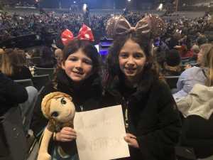 Pamela attended Disney's D'cappella on Feb 23rd 2019 via VetTix