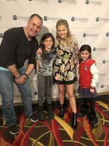 Marc attended Darci Lynne and Friends: Fresh out of the Box - *See Notes on Mar 2nd 2019 via VetTix