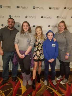Robert attended Darci Lynne and Friends: Fresh out of the Box - *See Notes on Mar 2nd 2019 via VetTix