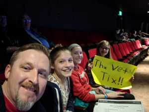 Shane attended Darci Lynne and Friends: Fresh out of the Box - *See Notes on Mar 2nd 2019 via VetTix