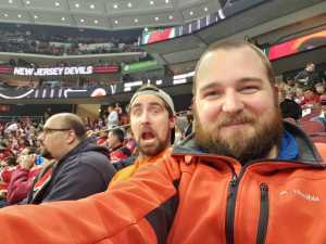 William attended New Jersey Devils vs. Philadelphia Flyers - NHL on Mar 1st 2019 via VetTix