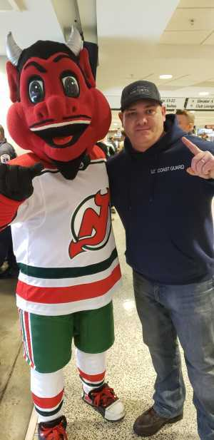 Kevin attended New Jersey Devils vs. Philadelphia Flyers - NHL on Mar 1st 2019 via VetTix