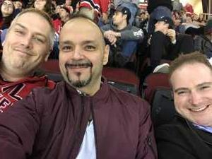 JOSE attended New Jersey Devils vs. Philadelphia Flyers - NHL on Mar 1st 2019 via VetTix